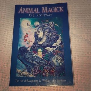 Book- Animal Magick-healing with animals 🐶🐱🦉🕊